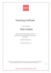 ACCA Practising Certificate 2014