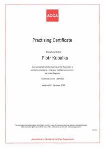 ACCA Practising Certificate 2015