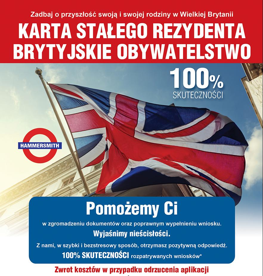 stala rezydentura brytyjskie obywatelstwo